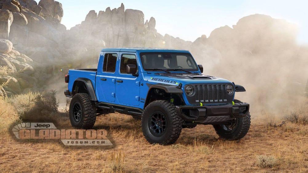 Jeep Gladiator Hercules 2020: Hi-po Raptor-fighter coming ...