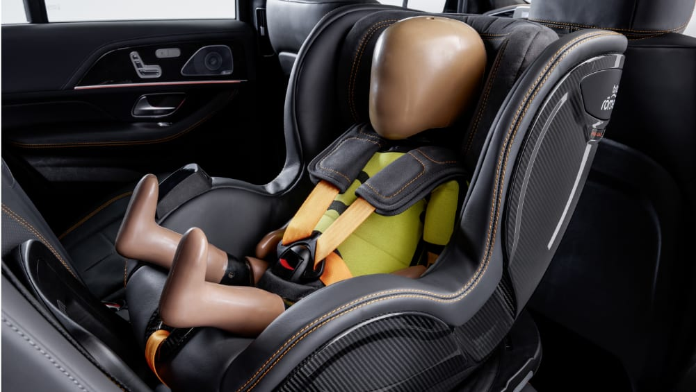Is this the world's smartest baby capsule? Mercedes-Benz to launch game-changing car seat