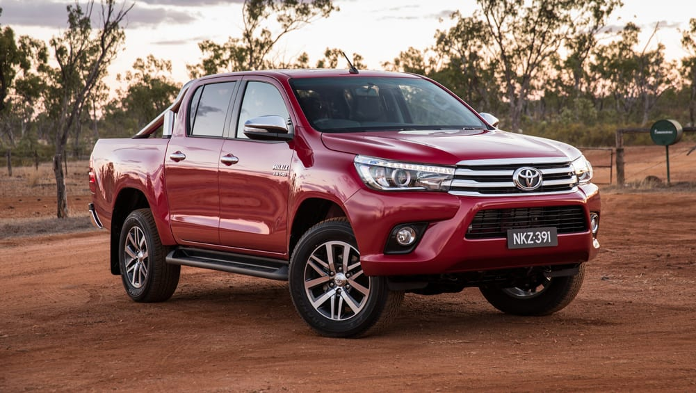 Toyota HiLux Edges Out Ford Ranger In Sales Race