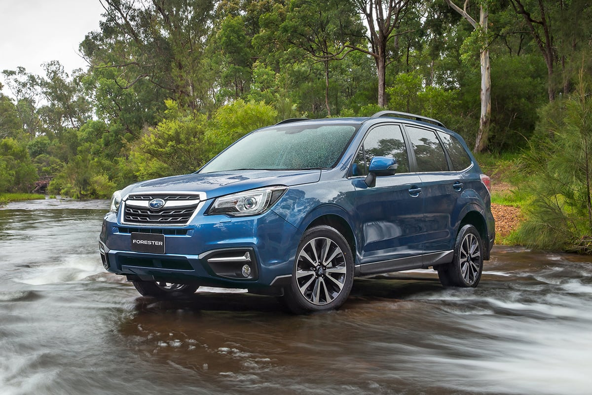 Subaru Forester 2.5i-L 2017 Review: Snapshot