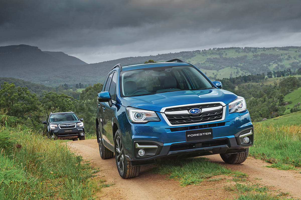 Subaru Forester 2.0D-L 2017 Review: Snapshot