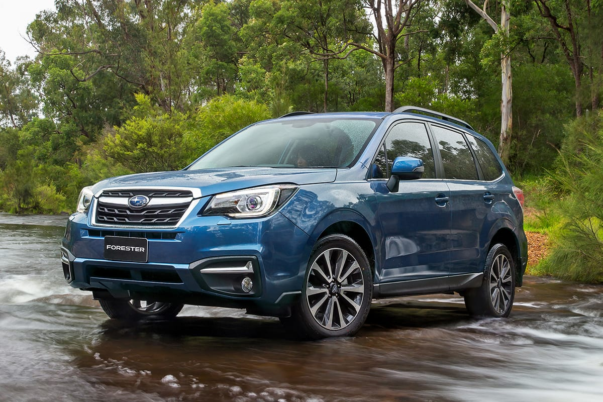 Subaru Forester 2.0i-L 2017 Review: Snapshot