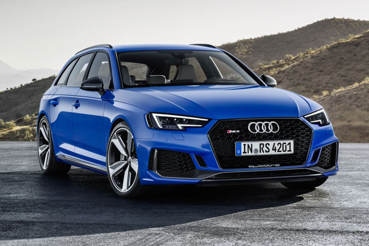 audi rs4 avant 2018 revealed in frankfurt car news carsguide. Black Bedroom Furniture Sets. Home Design Ideas