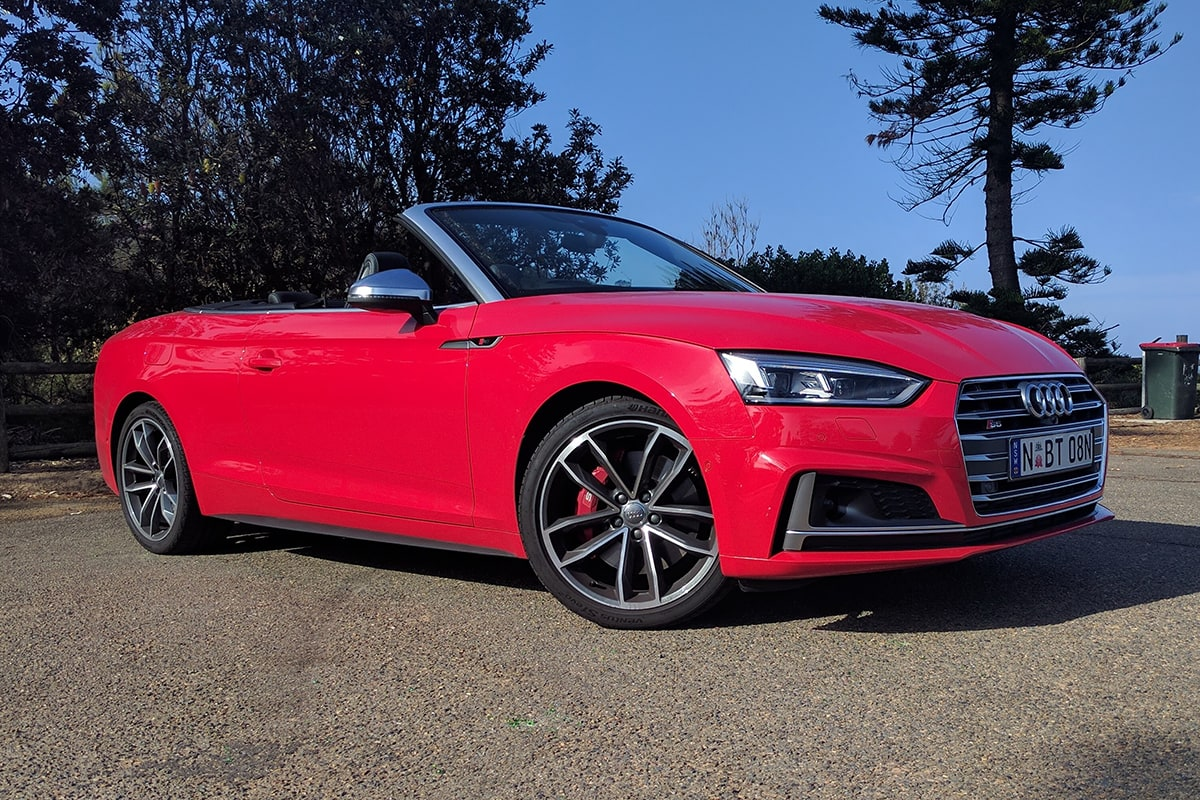 Audi S5 Cabriolet 2018 Review Weekend Test Carsguide