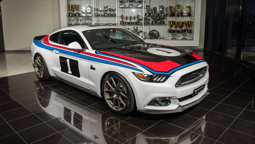 Tickford Mustang Pays Tribute To Moffat's 1977 Bathurst 1-2