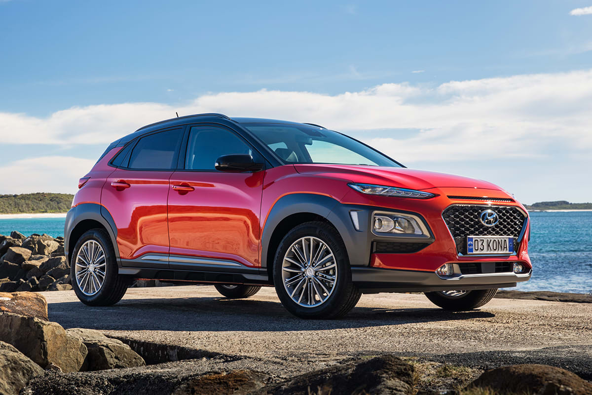 hyundai kona elite 2017 review snapshot carsguide. Black Bedroom Furniture Sets. Home Design Ideas