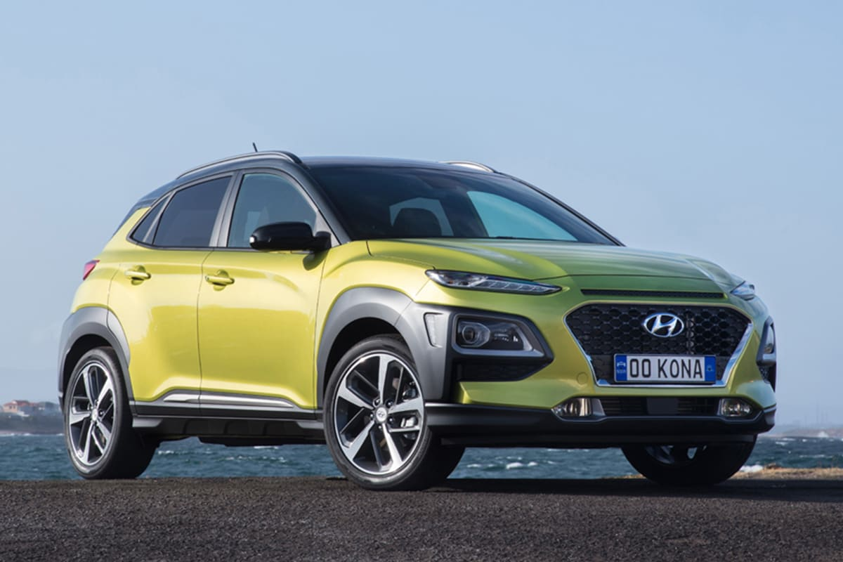 hyundai kona 2017 pricing and spec confirmed car news. Black Bedroom Furniture Sets. Home Design Ideas