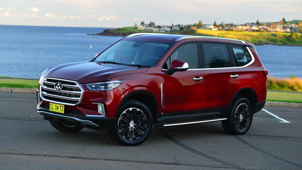 2017 LDV D90 SUV Global Reveal In Australia