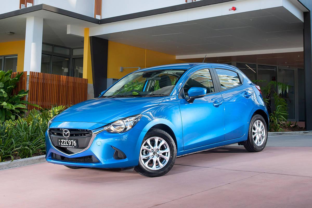 Mazda 2 blue