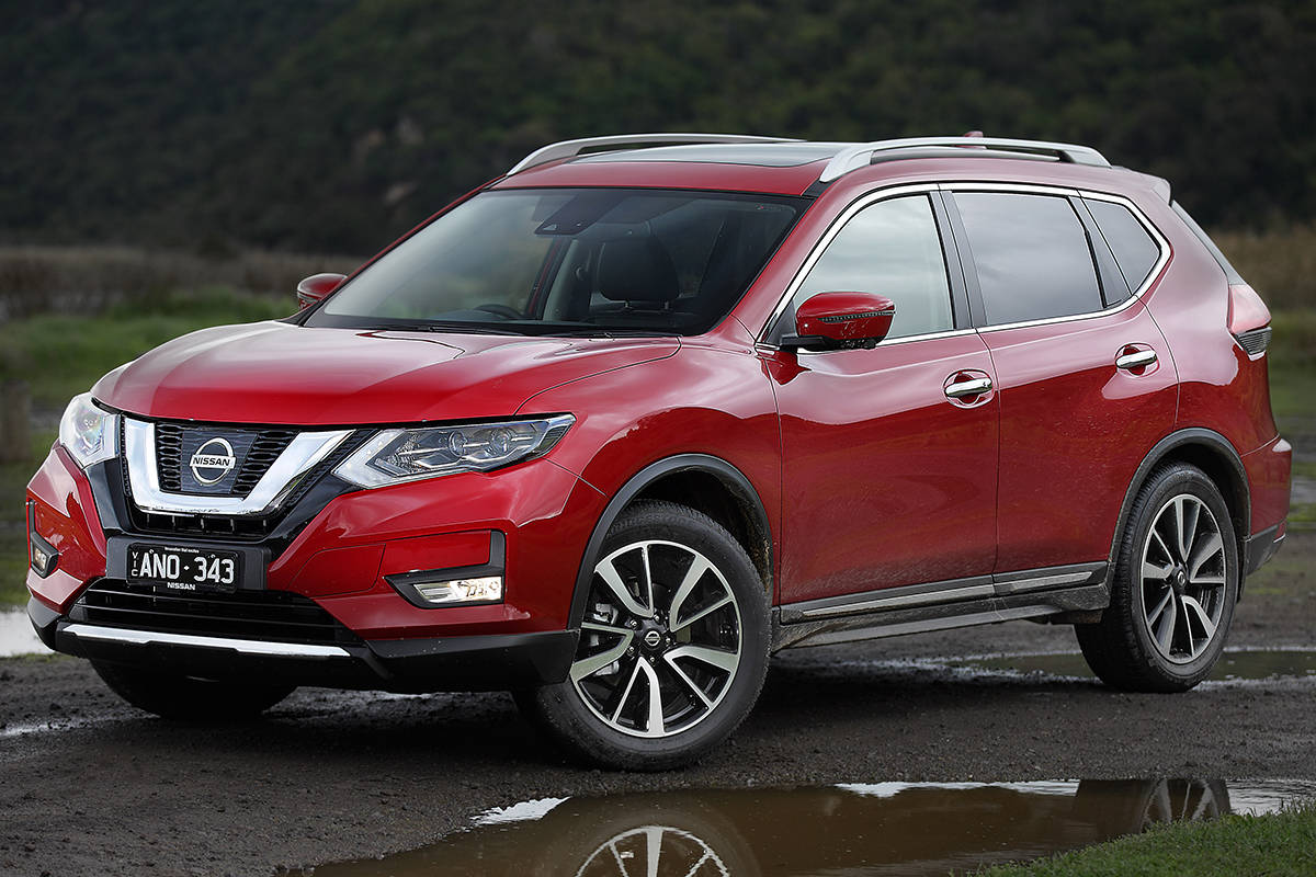 Nissan X-Trail TS 2017 Review: Snapshot