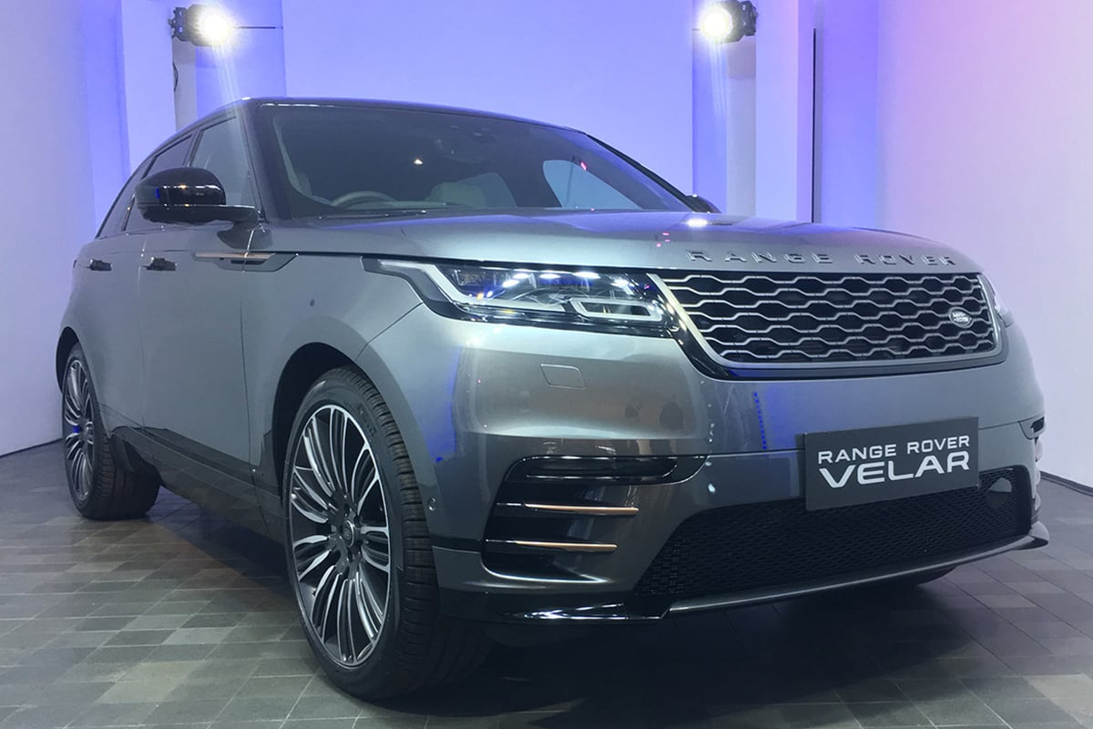 Range Rover Velar 2017: 20 Questions With Design Boss