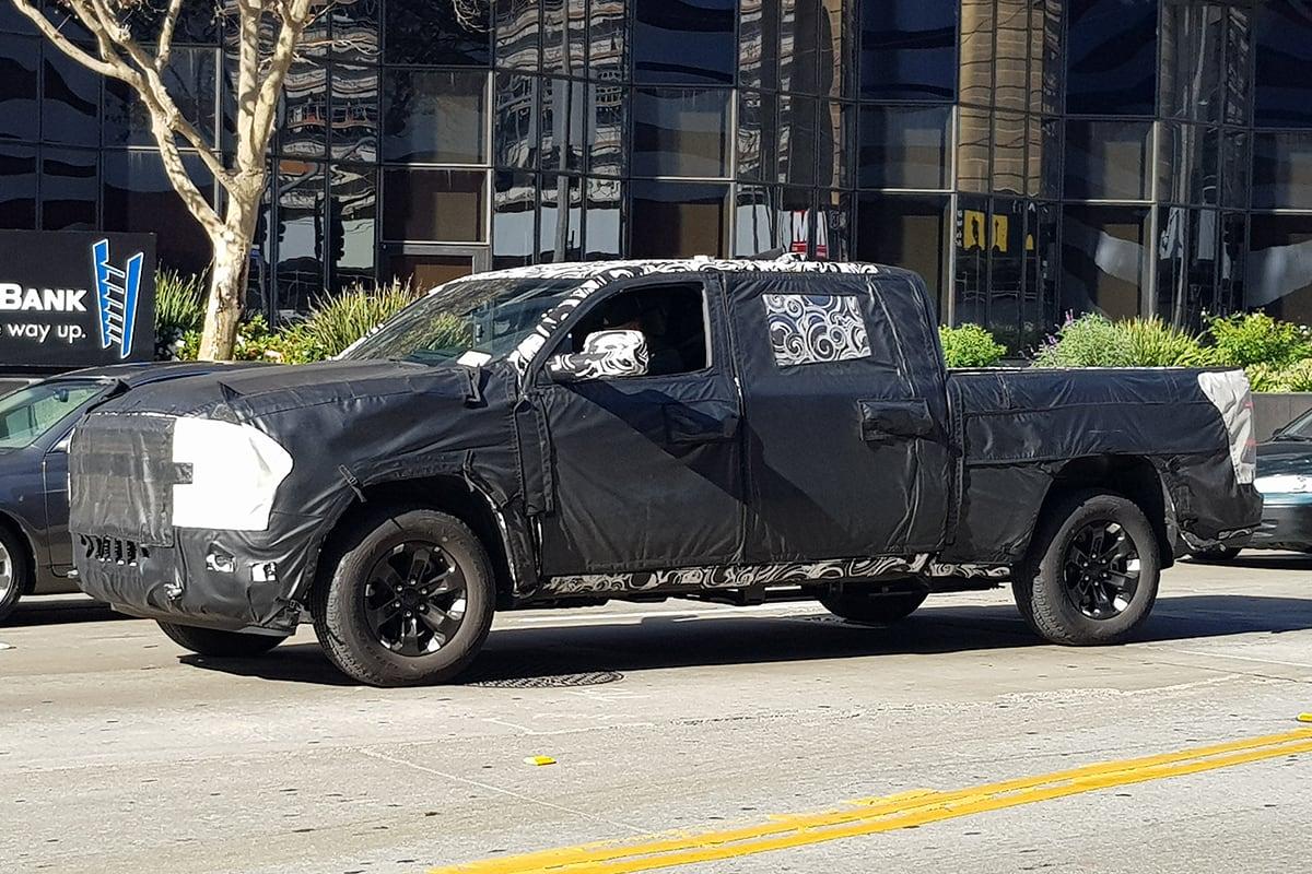 ram 2500 2019 spied testing car news carsguide. Black Bedroom Furniture Sets. Home Design Ideas