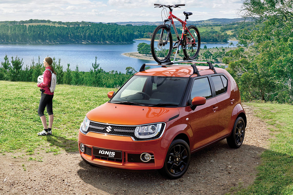 suzuki ignis 2017 review carsguide. Black Bedroom Furniture Sets. Home Design Ideas