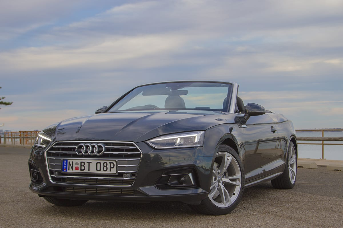 Audi A Cabriolet TFSI Quattro Review CarsGuide - Audi a5 convertible