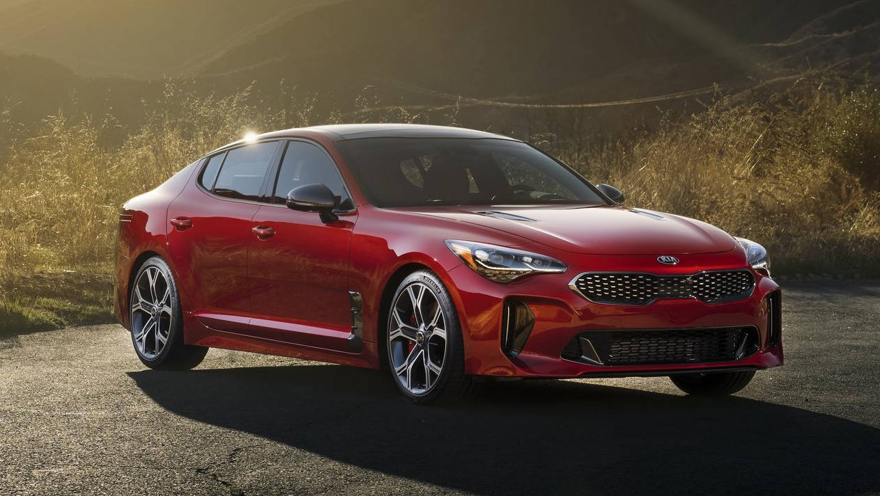 2017 Kia Stinger Priced From About $40k