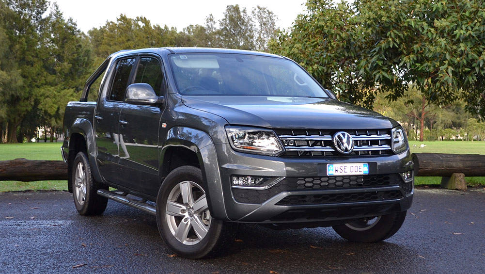 volkswagen amarok v6 tdi550 highline 2017 review carsguide. Black Bedroom Furniture Sets. Home Design Ideas