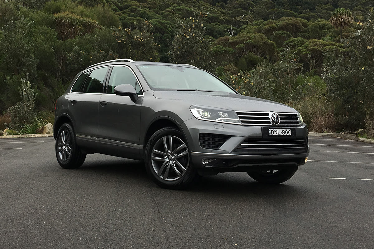 We Buy Used Cars >> Volkswagen Touareg Adventure 2017 review | CarsGuide