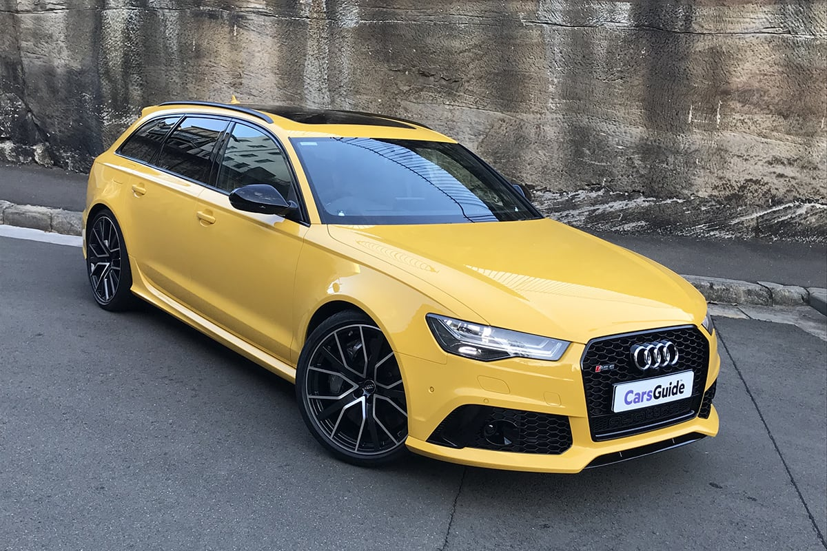 audi rs6 2018 review avant performance carsguide. Black Bedroom Furniture Sets. Home Design Ideas