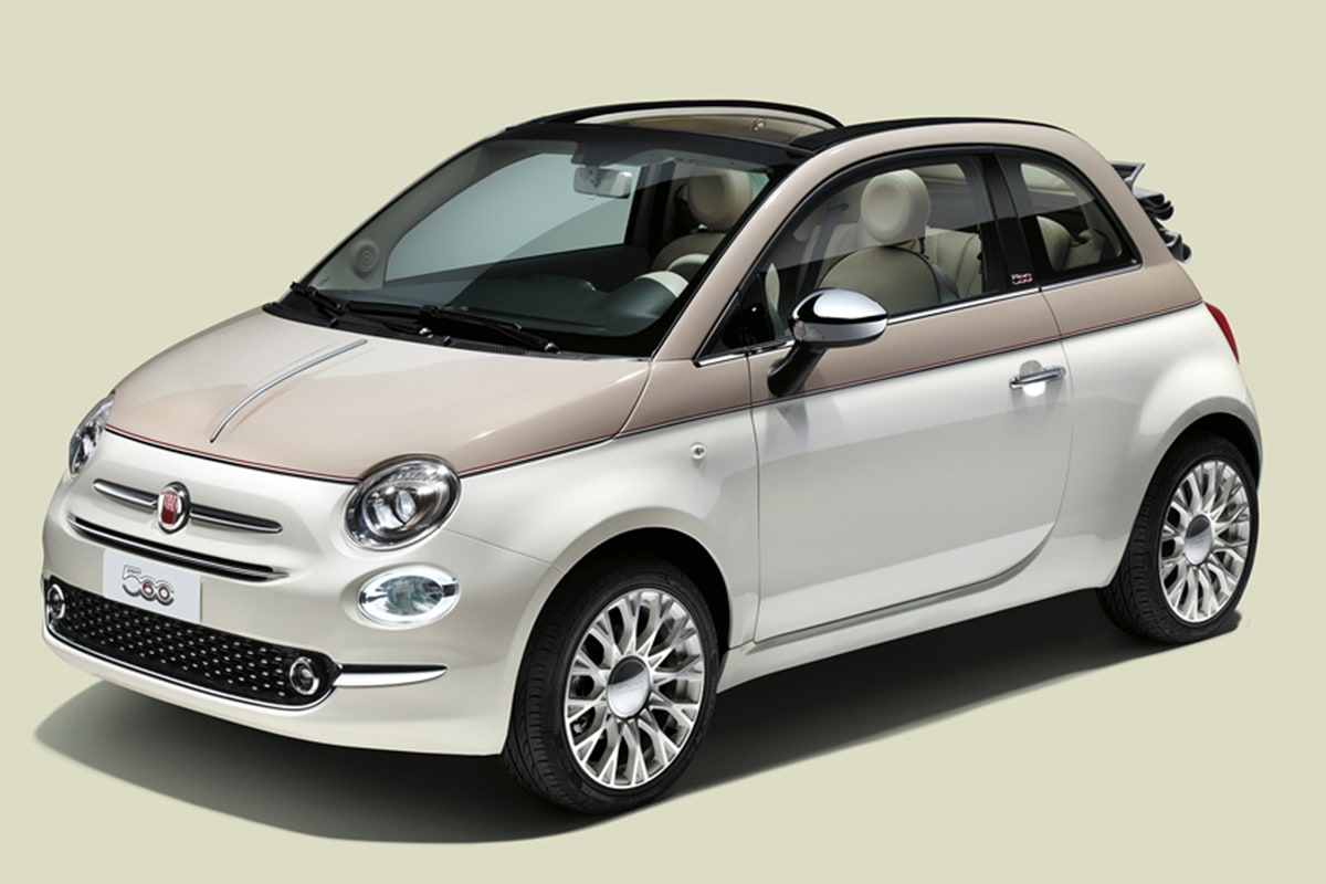 fiat 500c 60th anniversary 2018 pricing and spec confirmed. Black Bedroom Furniture Sets. Home Design Ideas