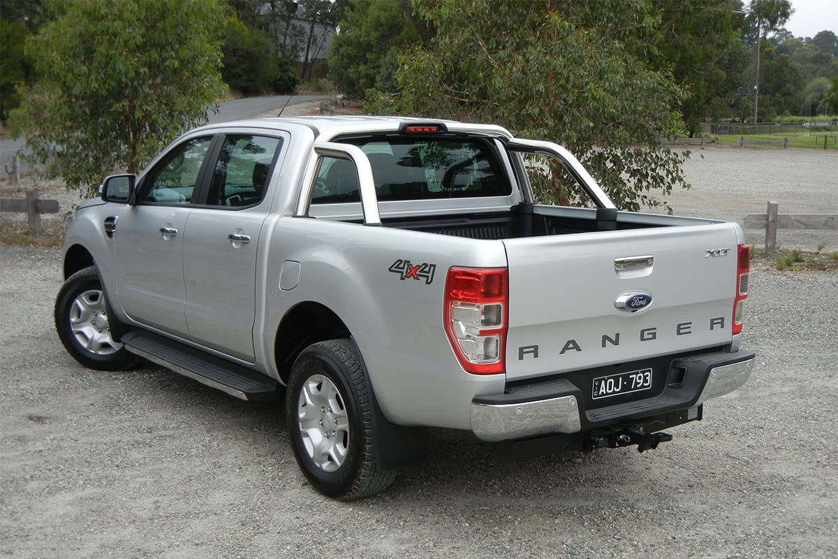 Ford ranger xlt 2018 review snapshot carsguide