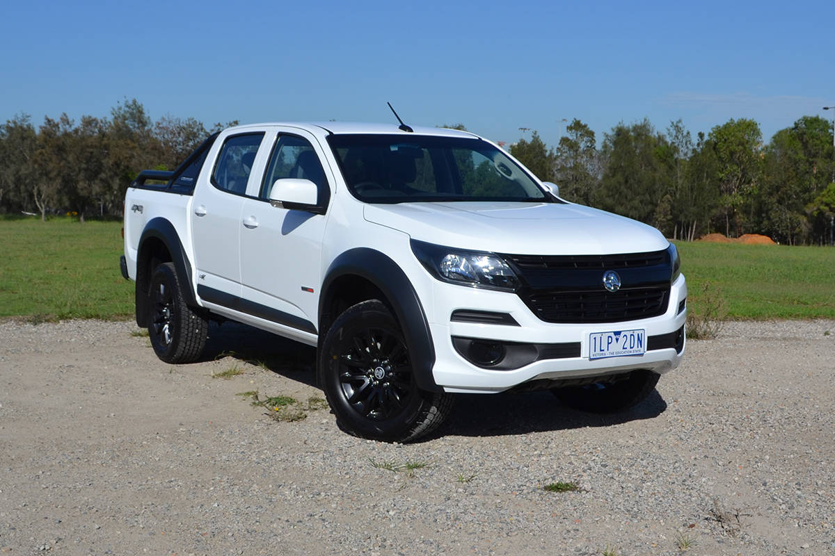 Holden Colorado Lsx 2018 Review Snapshot Carsguide