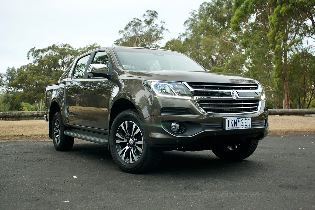 Toyota Highlander Lease >> Holden Colorado 2018 review | CarsGuide