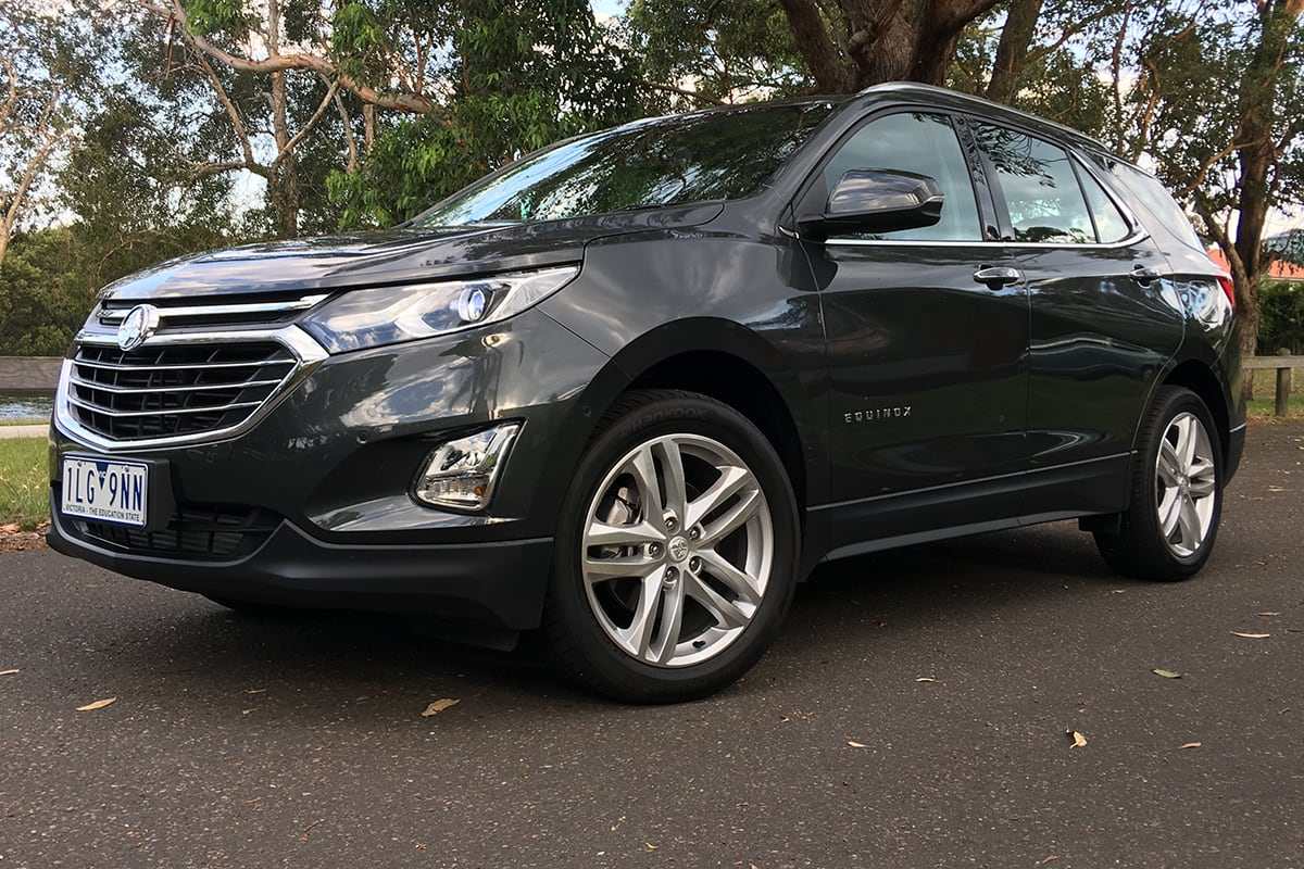 Used Chevy Equinox >> Holden Equinox LTZ-V 2018 review | CarsGuide