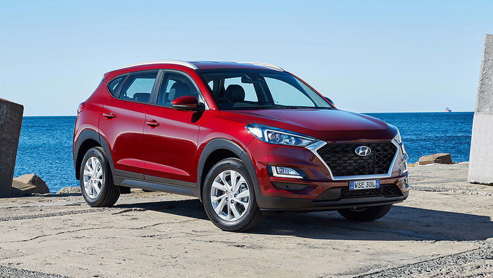 hyundai tucson active x 2019 review snapshot carsguide. Black Bedroom Furniture Sets. Home Design Ideas