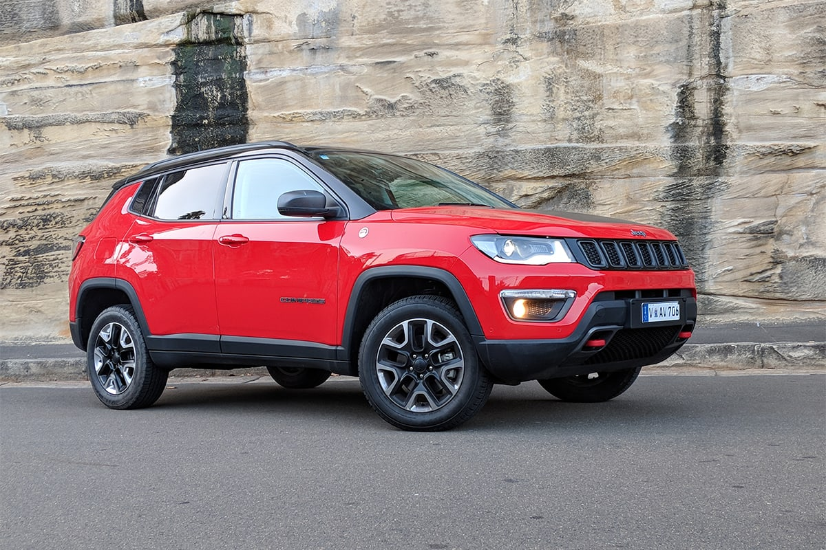 jeep compass trailhawk 2018 review carsguide. Black Bedroom Furniture Sets. Home Design Ideas
