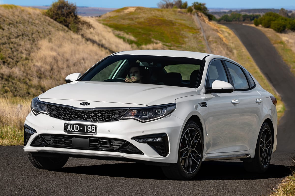 Kia Optima GT 2018 review: snapshot | CarsGuide