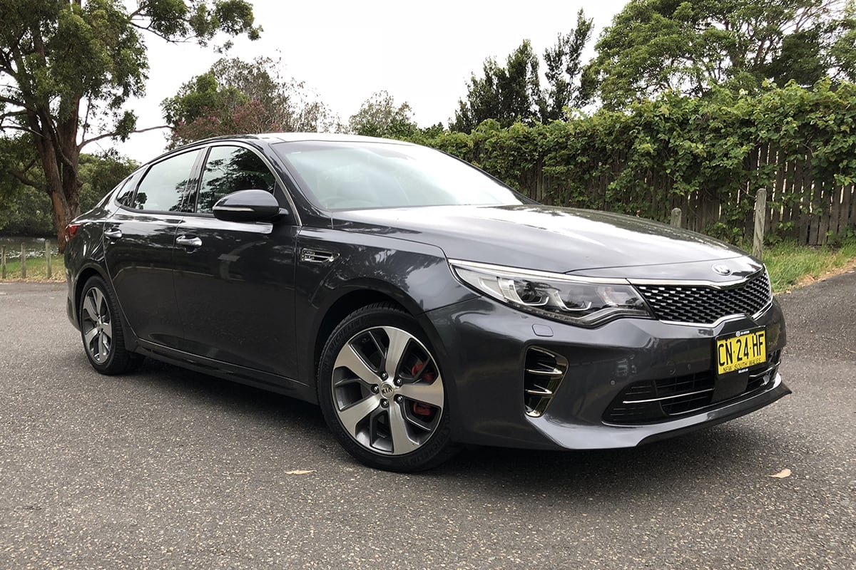 kia optima 2018 review carsguide. Black Bedroom Furniture Sets. Home Design Ideas