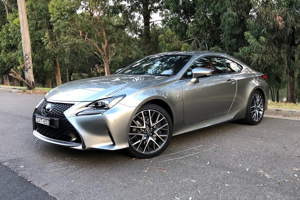 Lexus RC 350 2018 Review Snapshot CarsGuide