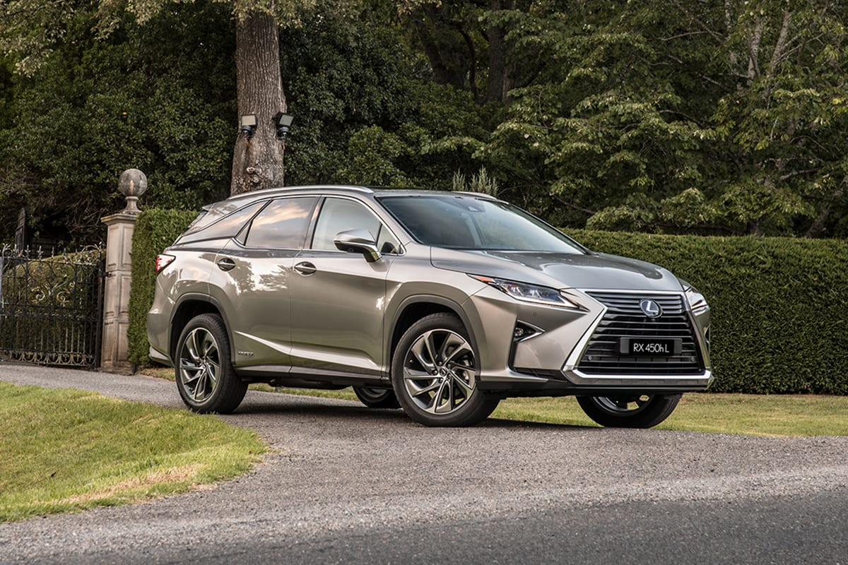 lexus rx 450hl 2018 review snapshot carsguide. Black Bedroom Furniture Sets. Home Design Ideas