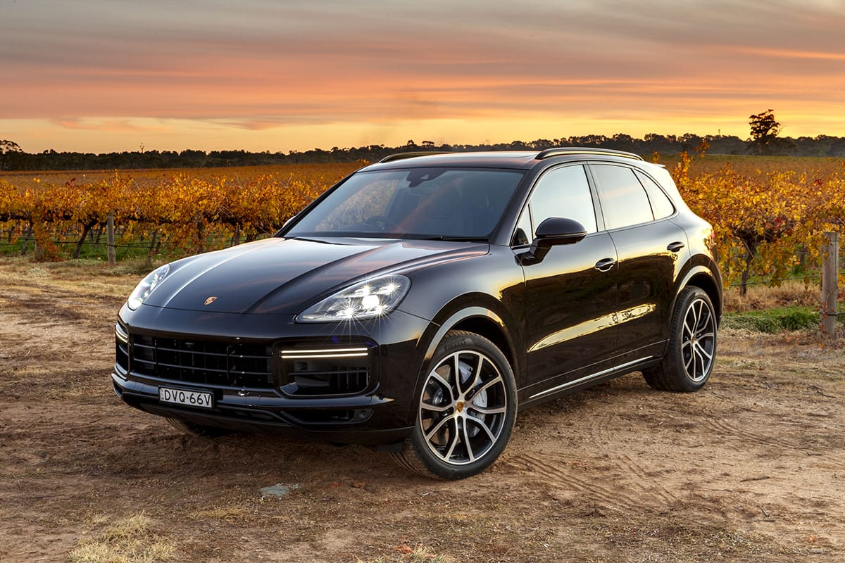 porsche cayenne turbo 2018 review snapshot carsguide. Black Bedroom Furniture Sets. Home Design Ideas
