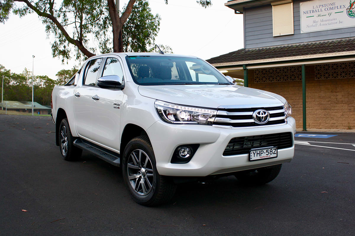 Sell My Car Fast >> Toyota HiLux SR5 2018 review: snapshot | CarsGuide