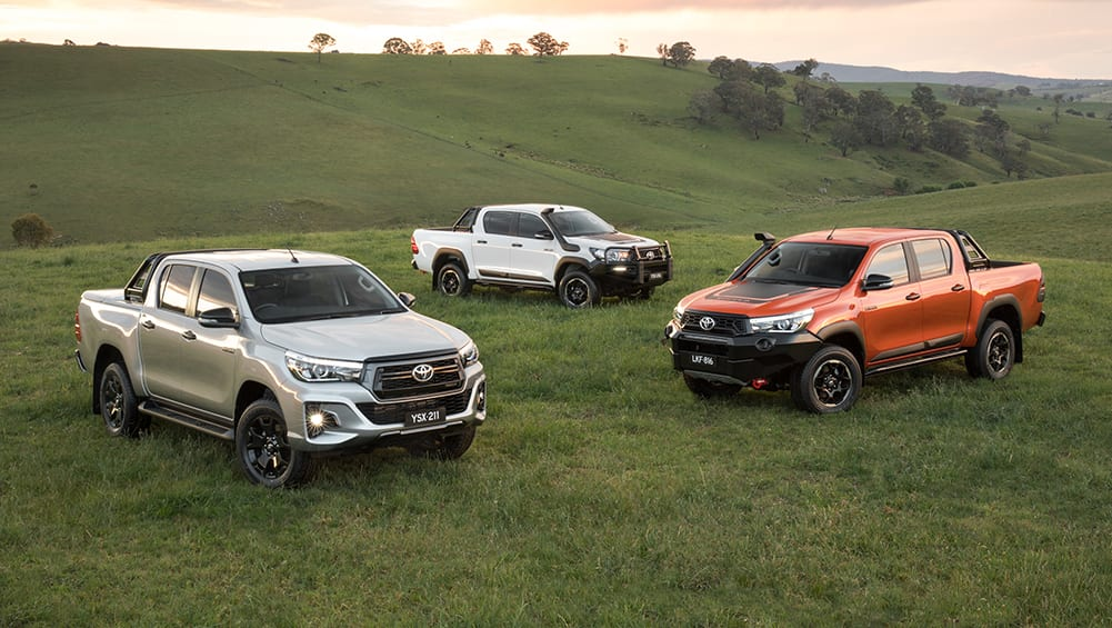 Toyota HiLux 2018 range to expand with Rogue, Rugged and ...