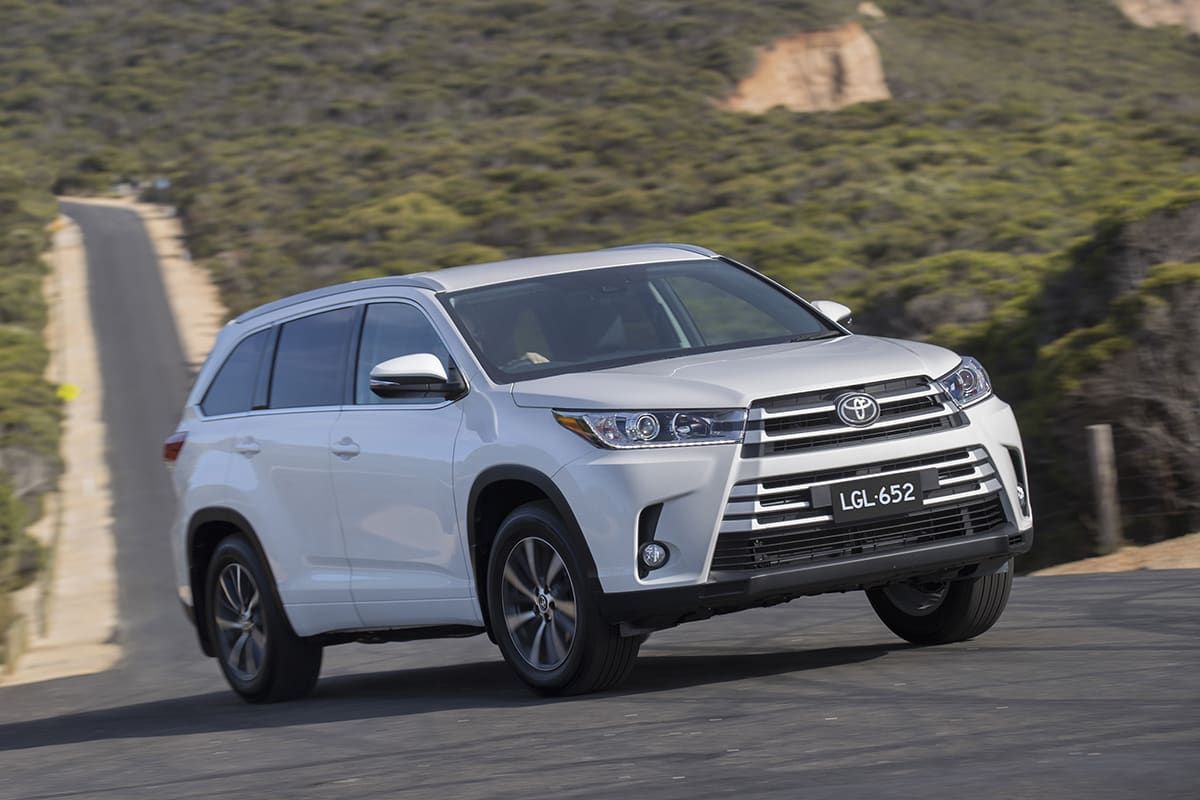 Toyota Kluger Grande 2018 Review: Snapshot