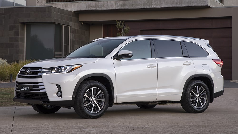 Toyota Suv For Sale >> Toyota Kluger 2018 pricing and specs confirmed - Car News | CarsGuide