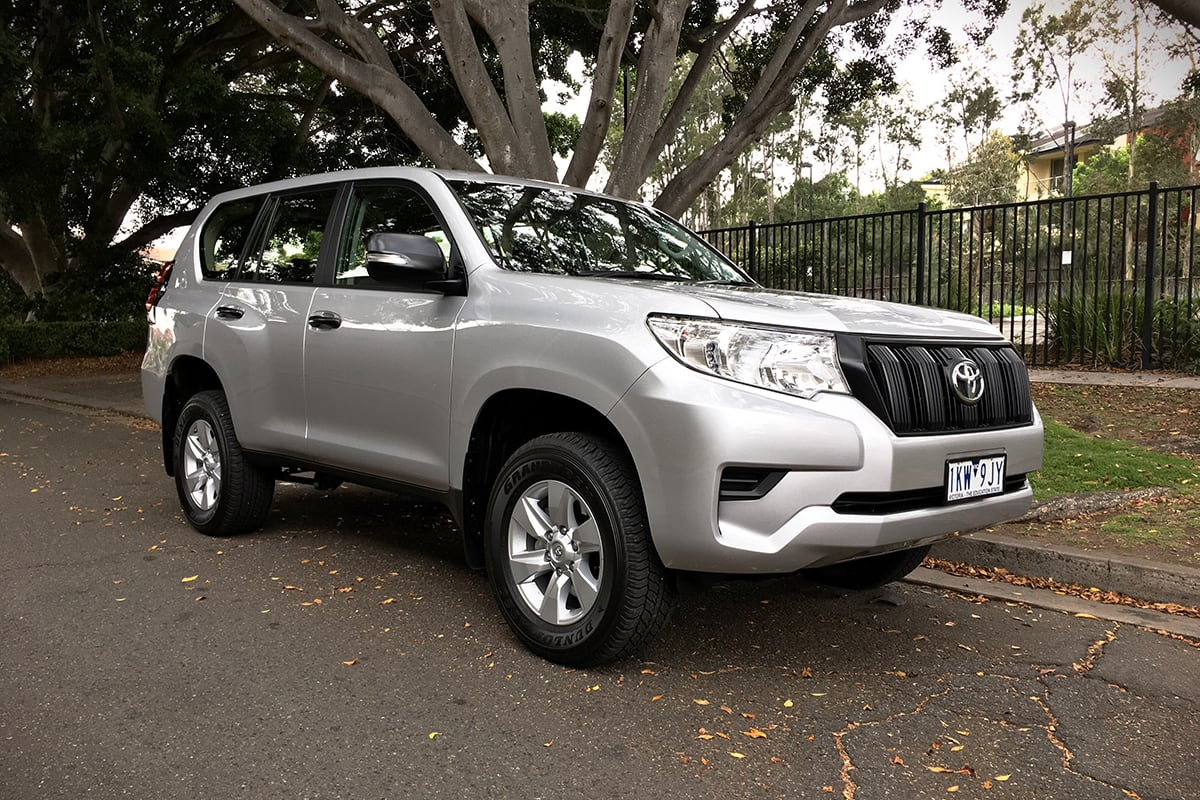 toyota prado gx manual  review carsguide