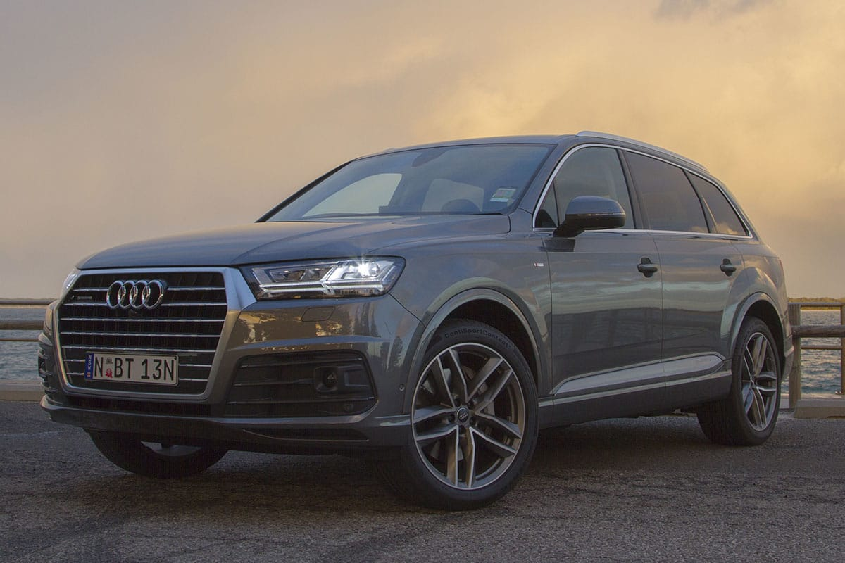 Audi Q7 3.0 TDI 200 2018 Review: Snapshot