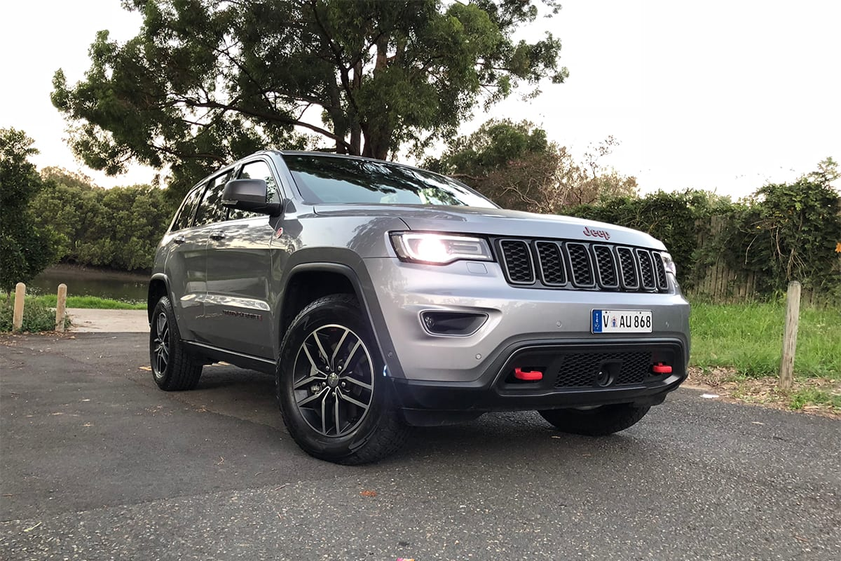 jeep grand cherokee 2018 review trailhawk carsguide. Black Bedroom Furniture Sets. Home Design Ideas