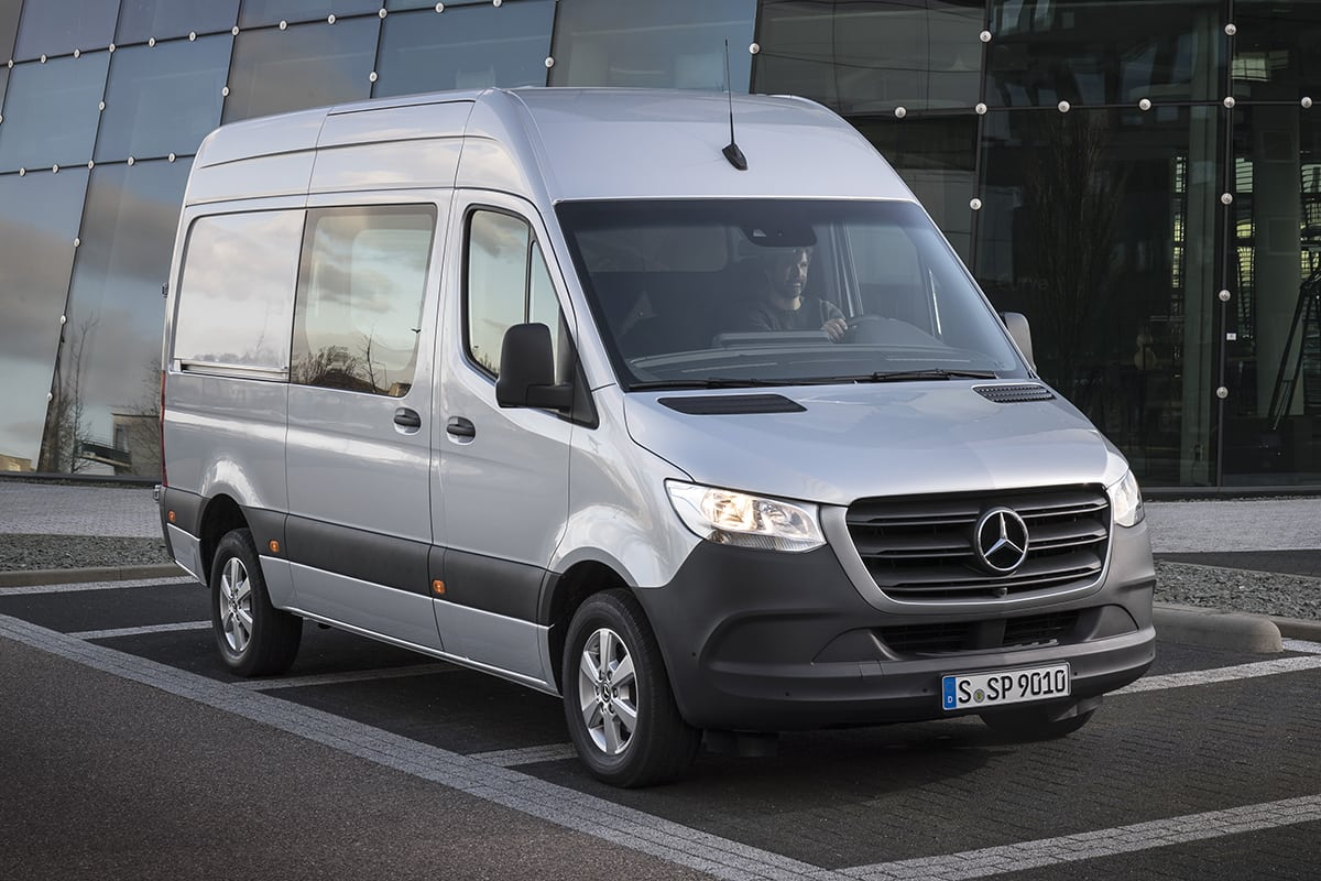 0d5f59e24f Mercedes-Benz Sprinter 2018 review