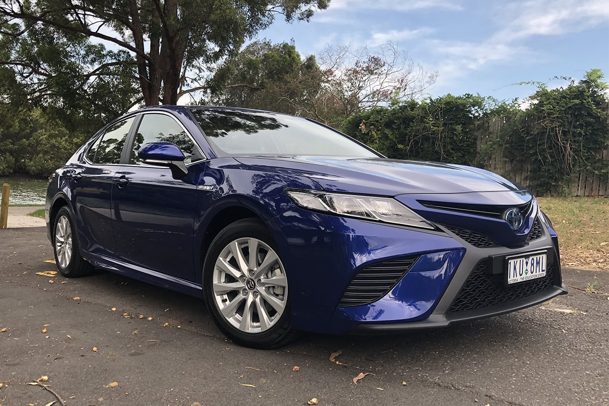 Toyota Camry Hybrid 2018 Review Ascent Sport Carsguide