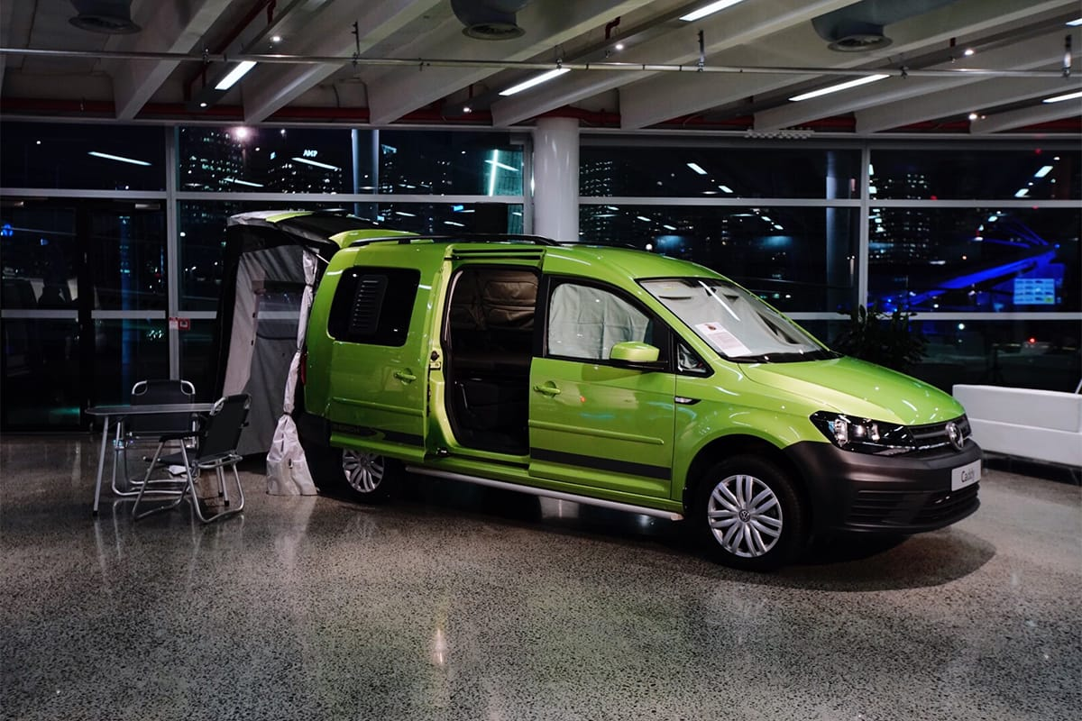 volkswagen caddy beach confirmed australias cheapest camper car news carsguide