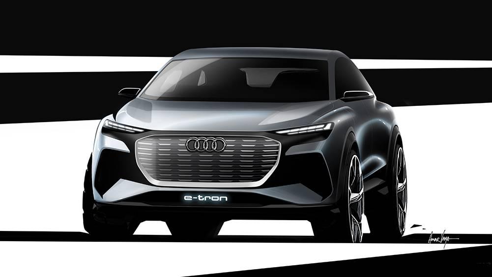 Audi Q4 e-tron concept revealed