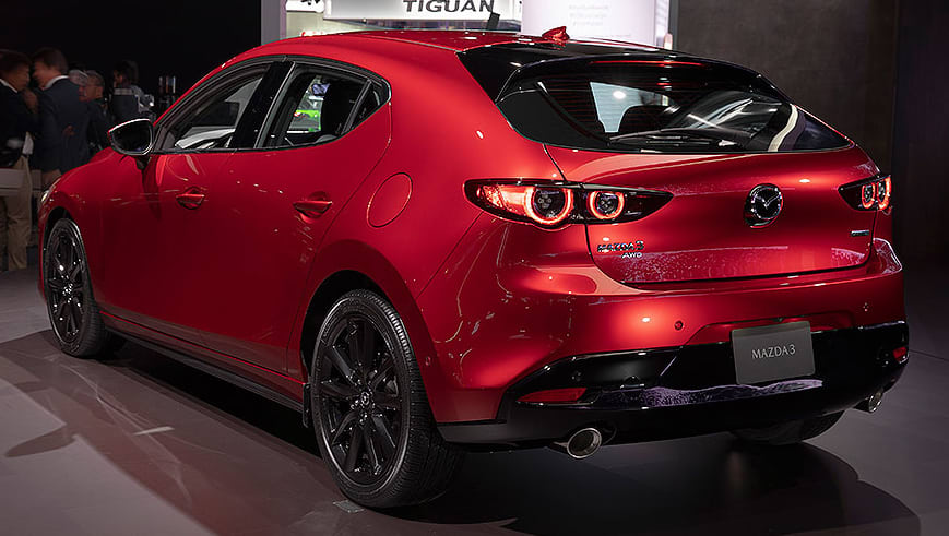 mazda 3 2019 sedan and hatch personality split explained car news carsguide. Black Bedroom Furniture Sets. Home Design Ideas