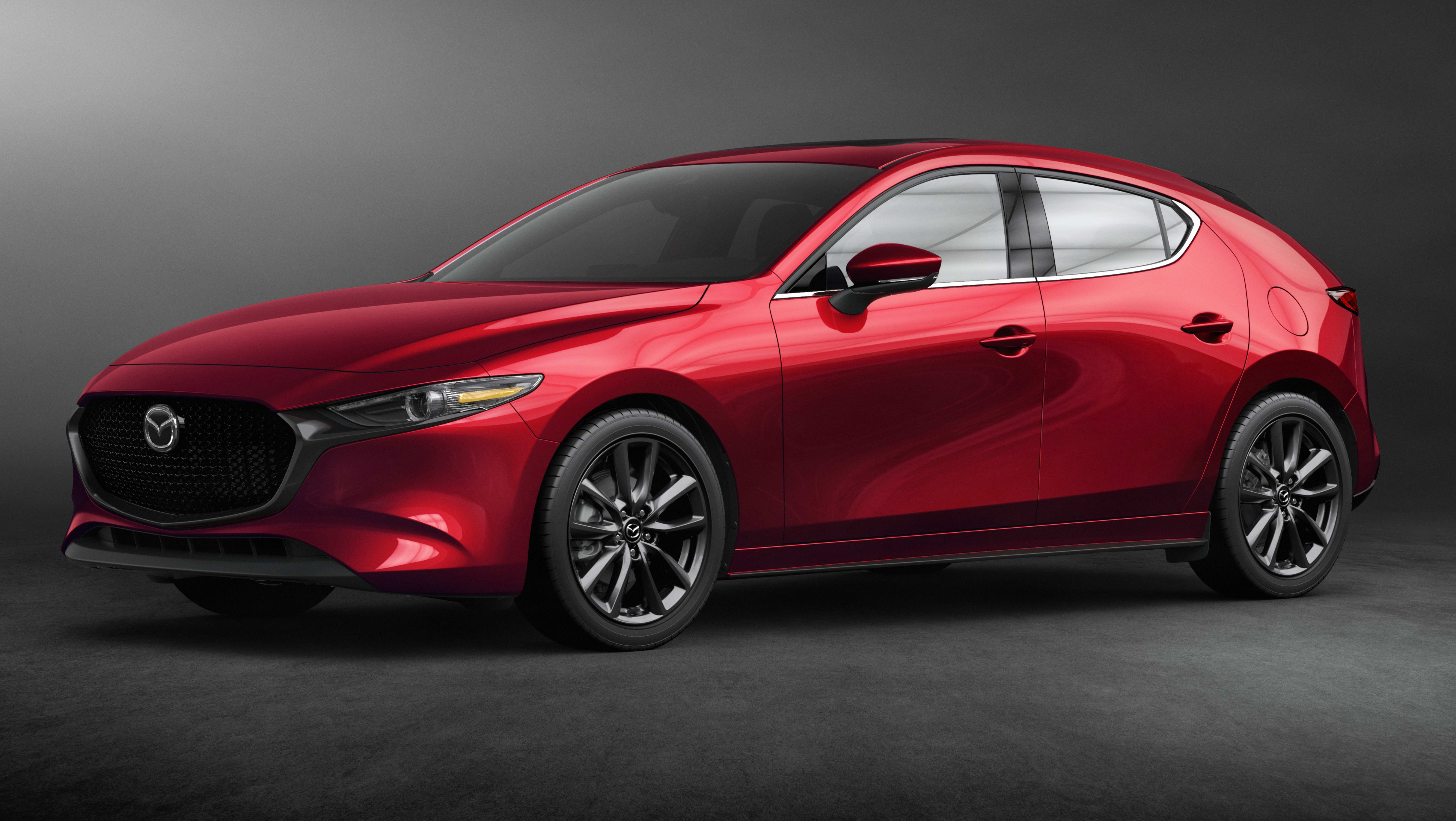 mazda 3 2019 revealed new look engines technology for small car heavyweight car news. Black Bedroom Furniture Sets. Home Design Ideas