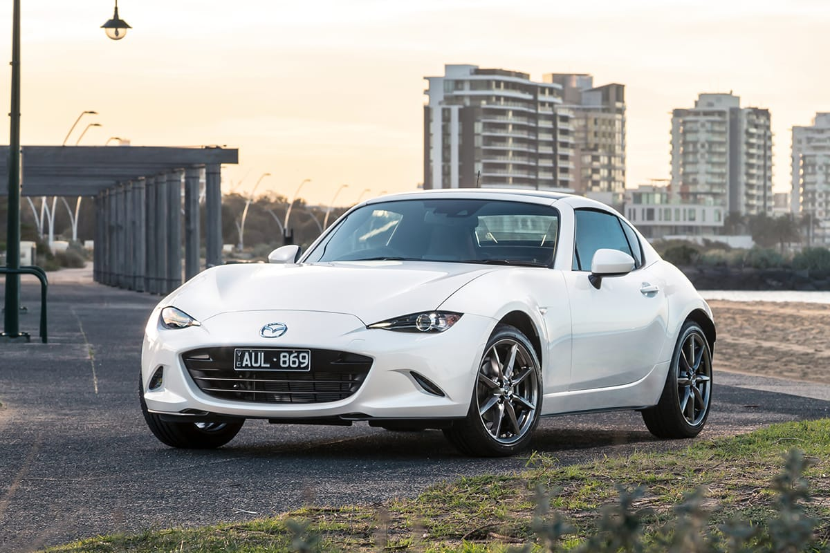 mazda mx 5 rf 2019 review snapshot carsguide. Black Bedroom Furniture Sets. Home Design Ideas