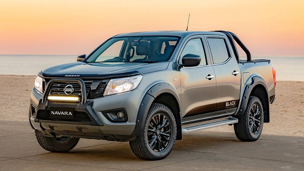 nissan navara 2019 range sees st black edition and sl silverline added car news carsguide. Black Bedroom Furniture Sets. Home Design Ideas