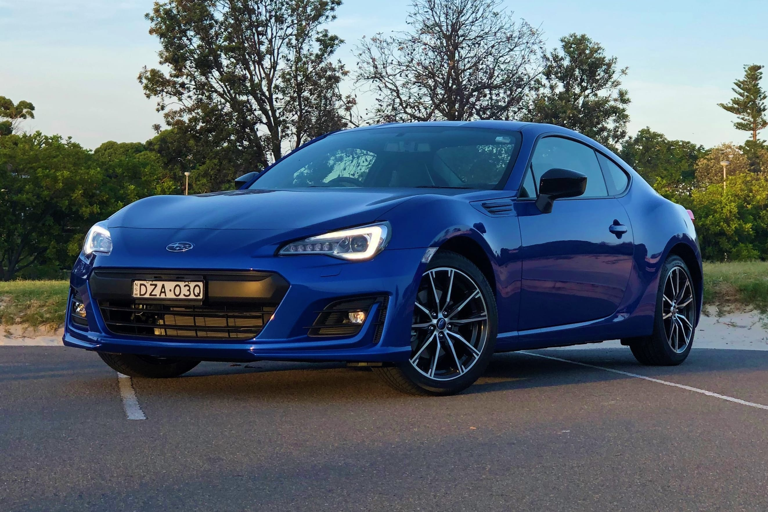 Subaru brz road test